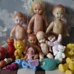 большой лот советских игрушек