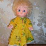 Малышка из СССР в родном платье и ползунках. Скидка 20% до Нового года