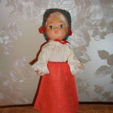 Паричковая кукла в родной одежде
