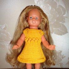 Куколка ГДР , редкая , очень длинные волосы