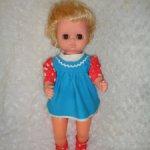 Кукла -пупс ГДР в родной одежде