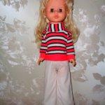 Винтажная куколка ГДР 70-80 года — Pluti Sonneberg
