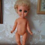 Полностью резиновая куколка ГДР
