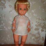 Кукла ГДР , блондиночка в родной одежде