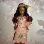 Американская куколка индианка со своим малышом
