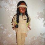 Американская куколка Индианка, полный родной аутфит