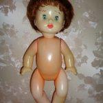 Кукла СССР Оленька , Московская фабрика сувенирных и подарочных игрушек .
