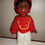 Редкая кукла Сонни  прямоножка-мулатик в полном комплекте родной одежде и обуви
