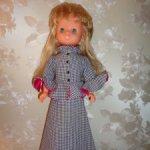 Кукла ГДР ,одежда родная , обувь подбор