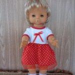 Кукла ГДР Бигги , есть клеймо под волосами , полностью резиновая девочка .