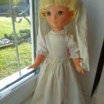 Советская винтажная  кукла латвийской фабрики Страуме (STRAUME) г.Рига, Латвийская ССР