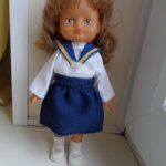 Кукла ГДР одежда частично родная
