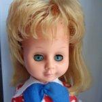 Кукла ГДР в родной одежде .