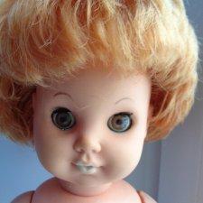 Кукла ГДР в родном платье