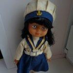 Кукла ГДР , полный комплект родной одежды с обувью .