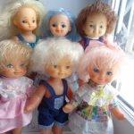 Днепропетровские куклы с рисованными глазками , малышки .