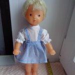 Советская паричковая кукла Юля фабрики Кругозор.