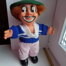 Полностью резиновый клоун ГДР