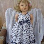 Одежда для кукол реборн и других похожего формата .Платья .Много !