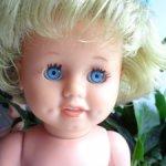Кукла Schildkrot . Клеймо на шее .
