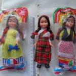 Куклы в национальных нарядах разных стран в родных упаковках -новые
