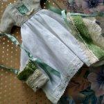 Платье+ сумка в стиле бохо для Soom imda 2.6 и других тини такого размер26-28 см