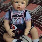 Коллекционная кукла от Моники Левениг