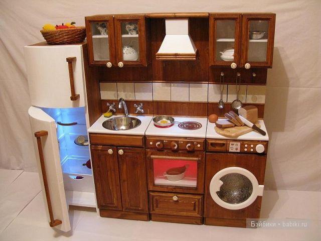 Кухонный гарнитур своими руками для барби