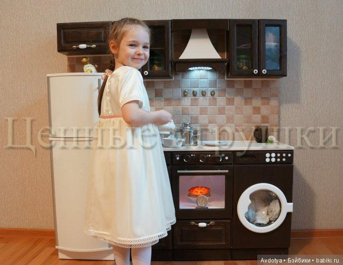 игровая кухня, игрушечная кухня, кухня для девочки, детская кухня, детская игровая кухня