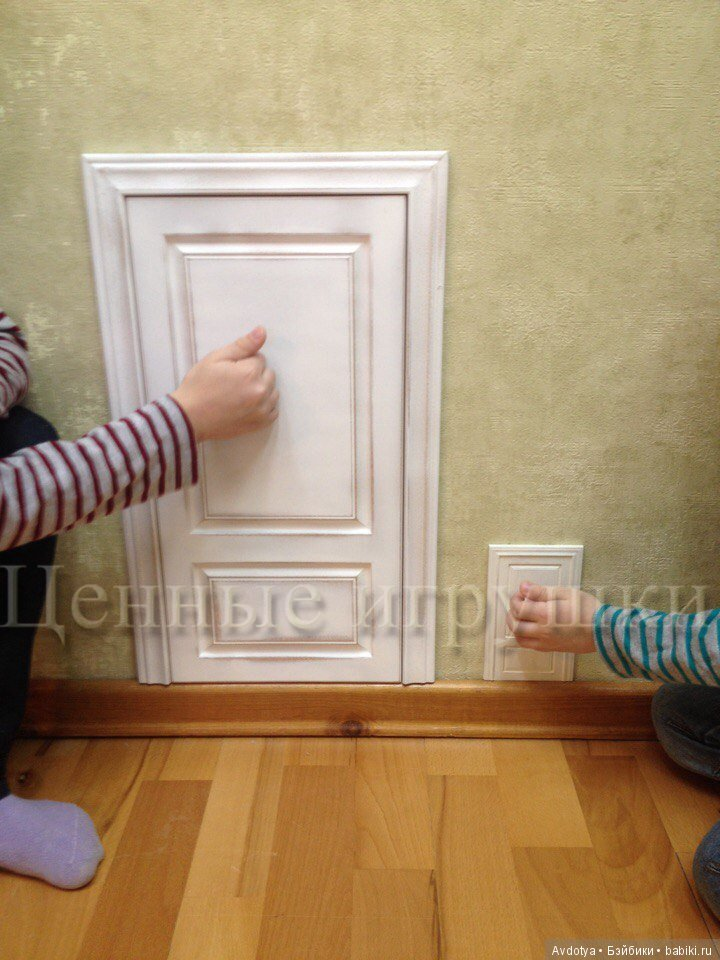 дверка для феи, fairy door