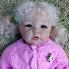 Кукла реборн Лукеша из молда Luka от Elly Knoops . Очень низкая цена