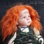 Рыжая бестия. Кукла-реборн Екатерины Захаровой