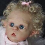 Юная балеринка Офелька. Кукла-реборн Екатерины Захаровой