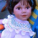Из коллекции маленьких очаровашек Анны Tиммерман - фарфоровая кукла Orange Blossom