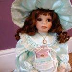 Фарфоровая кукла Сесилия от Вирджинии Торнер/ Цена включает доставку!!!