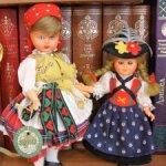 Две очаровательные винтажные куколки одним лотом. Цена за двух.