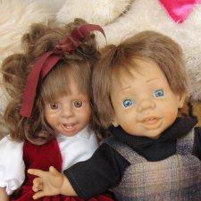 Две испанские винтажные куклы одним лотом.