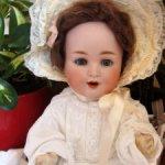 Sale!!! 12900 до 20/02 Прелестный антик. ребенок Scheutzmeister&Quendt201 Character baby.