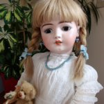 Красивая большая кукла от S&H 1079 DEP, 74 см