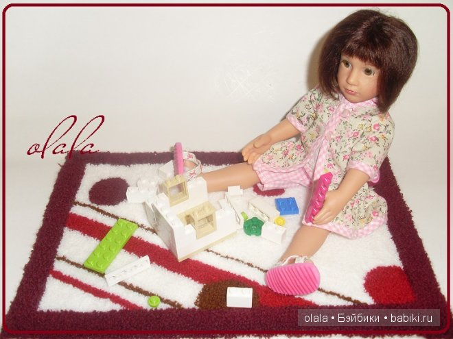 Коврики для кукол своими руками