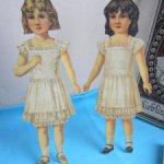 Редкие бумажные куклы с одеждой, по низкой цене