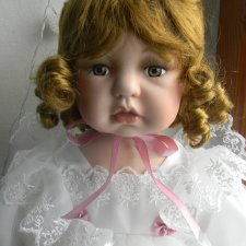 Фарфоровая немецкая кукла