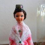 Винтажная немецкая куколка