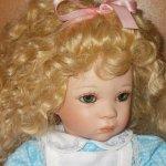 """""""Хочу в Алисы!"""" или новый образ коллекционной фарфоровой куклы Шейли от Линды Стил"""