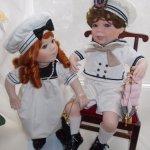 """""""Ты морячка, я моряк"""" - фарфоровые куклы Алекса и Филипп от Линды Стил"""