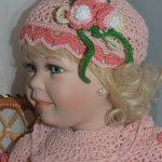 Детка-конфетка Кристина, фарофоровая кукла от Линды Стил  и её новый образ