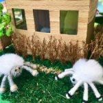 Новые весенние паучата в поисках дома! Ручная работа!