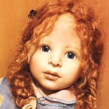 Чудесный рыжик-редчайшая  Доротея Heidi Plusczok. Цена 1 дня!