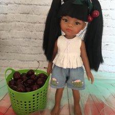 Девочка - черешенка Аурелия или летний подарок