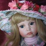 Прелестная танцовщица, фарфоровая кукла от Patricia Rose